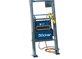Böcker Inclined Lifts for Sale at Caledonian Cranes, Scotland. 1