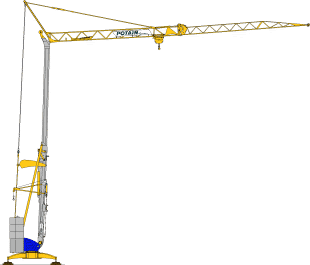 Potain Cranes for Sale at Caledonian Cranes, Scotland. 2
