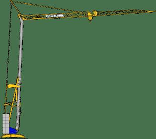 Potain Cranes for Sale at Caledonian Cranes, Scotland. 4