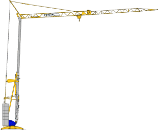 Potain Cranes for Sale at Caledonian Cranes, Scotland. 6