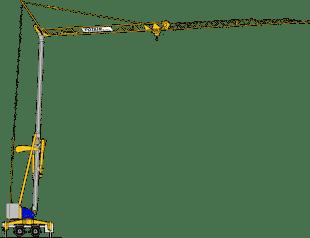 Potain Cranes for Sale at Caledonian Cranes, Scotland. 8